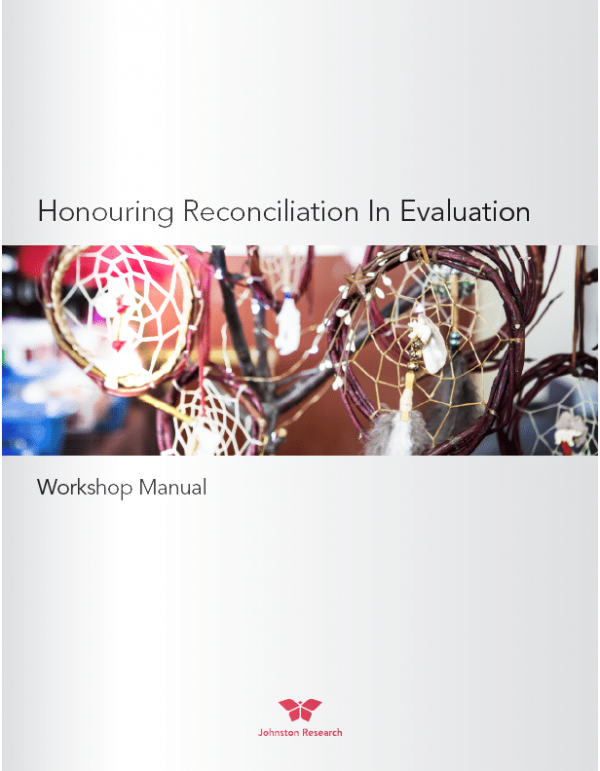 Honouring Reconciliation In Evaluation Workshop Manual